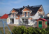Doppelhaus Neubau in Hausen
